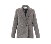 Padded wool jacket