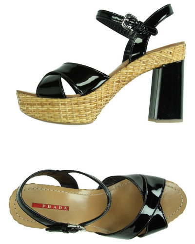 prada damen sandale prada sport reduziert. Black Bedroom Furniture Sets. Home Design Ideas