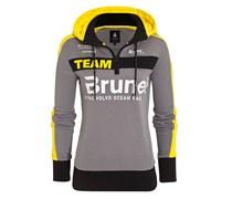 Gaastra Hoodie Team Brunel Damen Grau