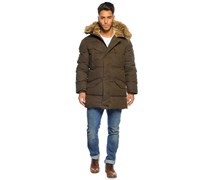 Garwood Winterjacke, khaki green, Herren