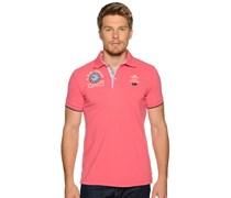 Poloshirt, pink, Herren