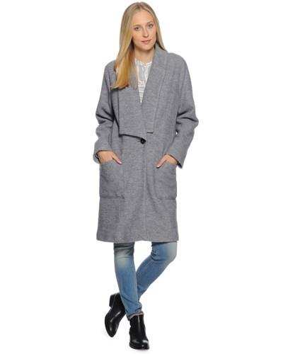 drykorn damen mantel grau damen 50 reduziert. Black Bedroom Furniture Sets. Home Design Ideas
