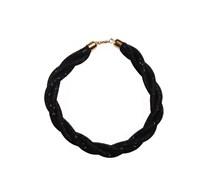Halskette, schwarz, Damen
