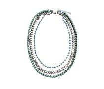 Halskette, mint/silber, Unisex