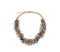 Halskette, gold/silber, Damen