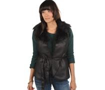 Wood Waistcoat/T, black, Damen
