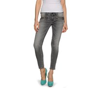 Sophier Multi Zip Jeans, clayton grey, Damen