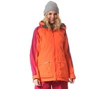 Chute II - Snowboardjacke für Damen - Orange