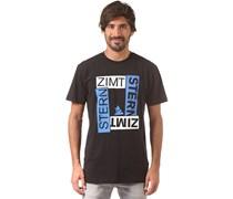 Boxy - T-Shirt für Herren - Schwarz