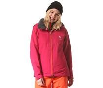 Utvak II - Snowboardjacke für Damen - Rot