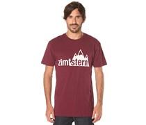Zimtstern TSM Mount Logo - T-Shirt für Herren - Rot
