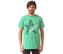 Typestar - T-Shirt für Herren - Grün Zimtstern