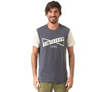 Hark - T-Shirt für Herren - Blau Zimtstern