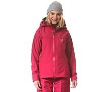 Couloir IV - Snowboardjacke für Damen - Rot