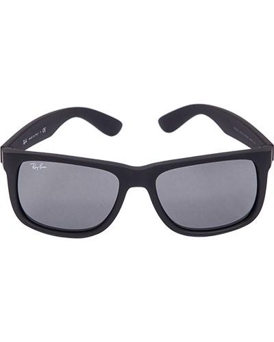 ray ban herren herren brillen sonnenbrille justin schwarz. Black Bedroom Furniture Sets. Home Design Ideas
