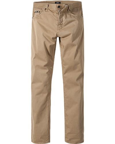 hugo boss herren herren hugo boss jeans maine1 10 50285266 262 beige unifarben klassisch sportiv. Black Bedroom Furniture Sets. Home Design Ideas