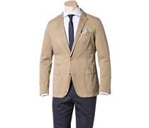 Herren HUGO BOSS Sakko Menvin-W beige unifarben Klassisch,Fashion