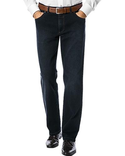 brax herren herren eurex by brax jeans blau unifarben klassisch sportiv reduziert. Black Bedroom Furniture Sets. Home Design Ideas