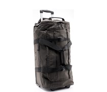 Herren EASTPAK Preston 68 Stripes brown  gestreift