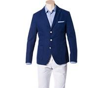 Herren HUGO BOSS Sakko Neel-D blau unifarben Klassisch,Trendig,Fashion
