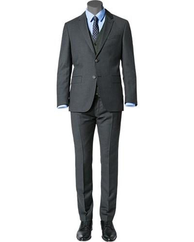 tommy hilfiger herren herren anzug fitted schurwolle. Black Bedroom Furniture Sets. Home Design Ideas