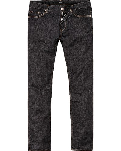 hugo boss herren herren hugo boss jeans delaware1 50260623 410 blau unifarben trendig reduziert. Black Bedroom Furniture Sets. Home Design Ideas