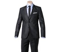 Herren HUGO Sakko Aeris grau meliert,meliert Klassisch,Trendig,Fashion