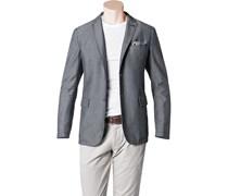 Herren BOSS Orange Sakko Benefit6-W grau gemustert,mit Muster Klassisch,Fashion
