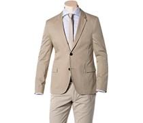 Herren HUGO Sakko Arnandos beige unifarben Klassisch,Trendig,Fashion