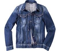 Herren Pepe Jeans Jacke Legend blau unifarben Trendig,Sportiv