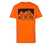 Zimtstern TSM_Rule T-Shirt orange