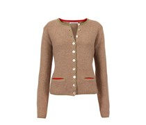 made in heaven Strickjacke German Janker Farbe: camel