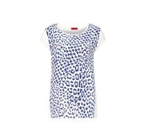 HUGO HUGO BOSS Shirt Natasia Farbe: creme/blau
