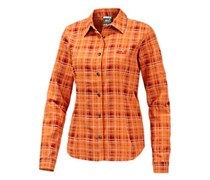 Jack Wolfskin Valley Funktionsbluse Damen in orange