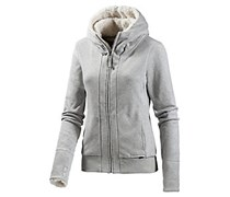 Bench Kadg III Kapuzensweatjacke Damen in grau