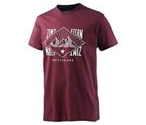 Zimtstern TSM Home T-Shirt Herren in rot