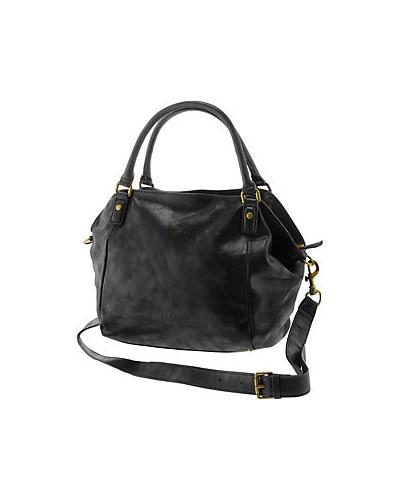 liebeskind damen liebeskind amanda handtasche damen schwarz metallic 30 reduziert. Black Bedroom Furniture Sets. Home Design Ideas
