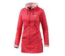 Bench Cue Kapuzensweatjacke Damen in rot