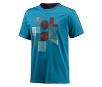 Jack Wolfskin Palmerston OC T-Shirt Herren in blau