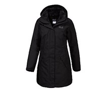 Jack Wolfskin 5TH Avenue Kurzmantel Damen, schwarz