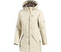 Jack Wolfskin 5TH Avenue Kurzmantel Damen, gelb