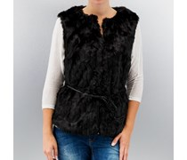 VILA Vipua Waistcoat Black