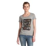 T-Shirt ´Vasya` mit Rundhals-Ausschnitt