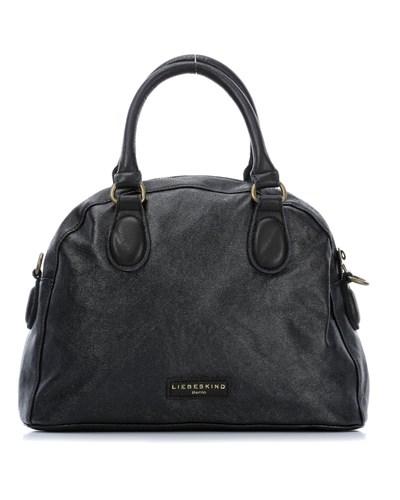 liebeskind canvas adrienne handtasche canv adrienne black. Black Bedroom Furniture Sets. Home Design Ideas