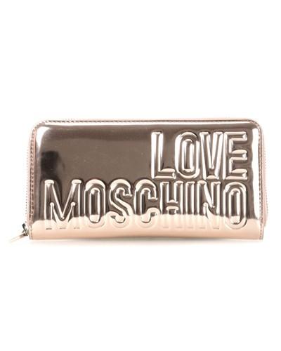 moschino damen love moschino embossing love geldb rse damen jc5554pp00kh0 copper reduziert. Black Bedroom Furniture Sets. Home Design Ideas
