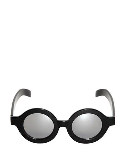 cheap monday herren cheap monday runde verspiegelte sonnenbrille schwarz reduziert. Black Bedroom Furniture Sets. Home Design Ideas