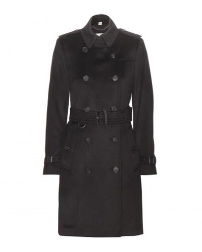 burberry damen burberry london trenchcoat kensington aus cashmere reduziert. Black Bedroom Furniture Sets. Home Design Ideas