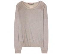Dear Cashmere - Pullover aus Metallic-Strick