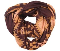 Pieces Womens Rizta Tube Scarf Fudge/Chipmunk Fudge/Chipmunk
