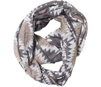 Pieces Womens Rizta Tube Scarf Castlerock/Ballad Blue